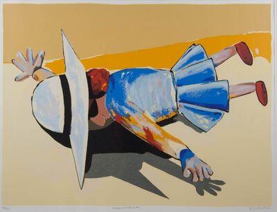 Charles Blackman, 'Fallen Schoolgirl', ca. 1989