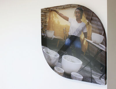 Georgia Clemson, 'Two corners two curves', 2019