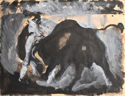 Mané-Katz, 'Bullfighting', 20th century