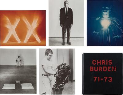 Chris Burden, 'Deluxe Photo Book 71-73', 1974