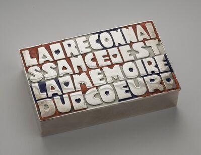 Line Vautrin, 'La reconnaissance est la mémoire du Coeur, Box', 1942-1950
