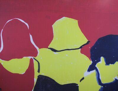 Oscar Lubow, 'Three Women with Bob Haircuts', 1995