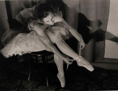 Margaret Bourke-White, 'Premier Ballerina Semionova, Moscow Ballet', 1931