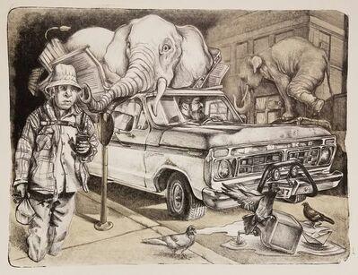 Francisco Delgado, 'American Graffitti I', 2018