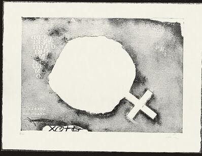 Antoni Tàpies, 'Paper Cremat', 1975