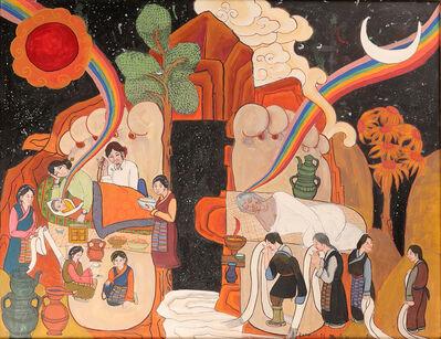 Tsering Drolma 次仁卓玛, 'Samsara《⽣死》', 2014