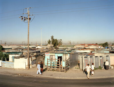 David Goldblatt, 'On Lansdowne Road, Khayelitsha, Cape Town, in the time of AIDS', 2007