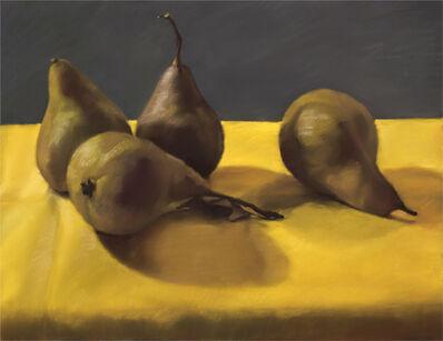 Mary Joan Waid, 'Four Pears', 2012