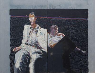 Giorgio Bellandi, 'Lampblack series 1'