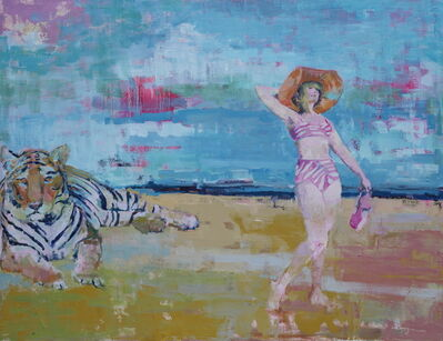 Brian Keith Stephens, 'Lazy sunbathers',