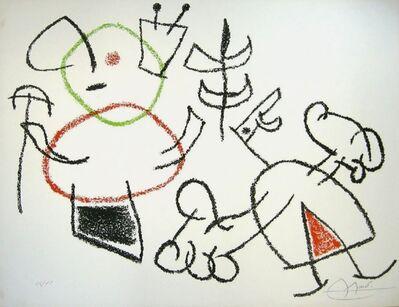 Joan Miró, 'Ubu Aux Baleares', 1971