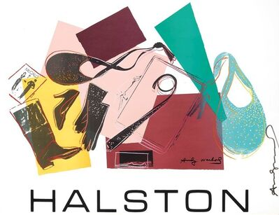 Andy Warhol, 'Halston Avertising Campaign: WOMEN'S ACCESSORIES', 1982