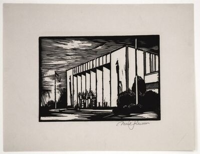 Mark Freeman, 'Chicago Worlds Fair (#4): Administration Building (Portfolio of 6)', 1933