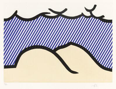 Roy Lichtenstein, 'Illustration for De Denver au Montana, Départ 27 Mai 1972 (I), from La Nouvelle Chute de l'Amerique (Corlett 275)', 1992