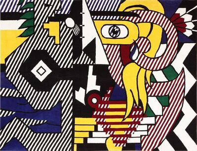 Roy Lichtenstein, 'Pop Art Tapestry Rug by Roy Lichtenstein', Mid 20th Century