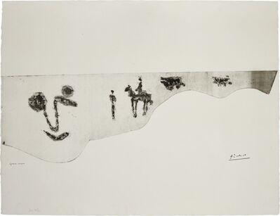 Pablo Picasso, 'VISAGE ET TAUROMACHIE (SEE BA. 1362)', 1960-61