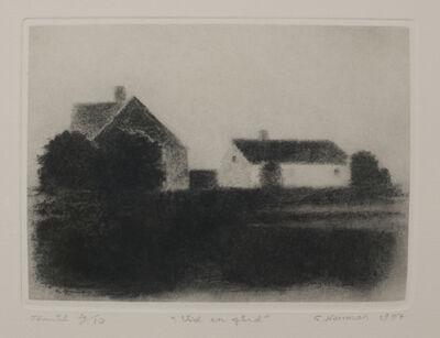 Gunnar Norrman, 'Vid en gard (By a Farm)'