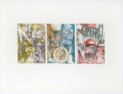 Jasper Johns, 'Voices 2', 1982