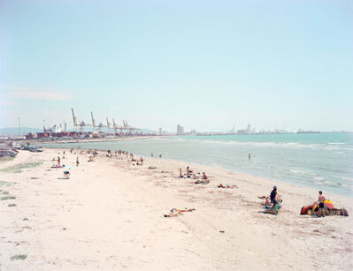 """Massimo Vitali, '33 Calambrone from """"A Portfolio of Landscapes With Figures""""', 2006"""