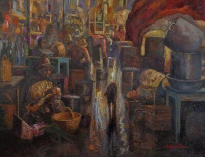Benjamín Lafuente, 'Caracota Market', 2016