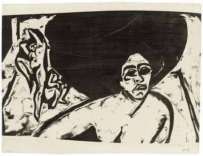 Ernst Ludwig Kirchner, 'Nackte Tänzerinnen', 1909