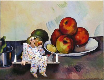 Stephen Hansen, 'Still Life with Apples - Cezanne ', 2016