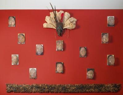 Wilfredo Valladares, 'Unmasked series installation 2', 2016