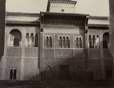 Louis de Clercq, 'Seville: Alcasar. Porte d'Entree (Positive and Negative)', 1860/1860