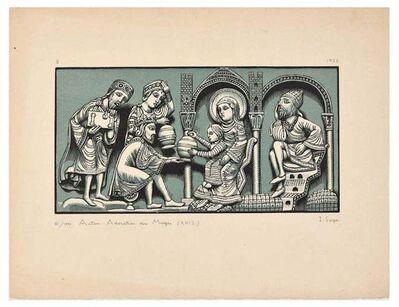 Isidore Sage, 'Adoration des Mages', 1926