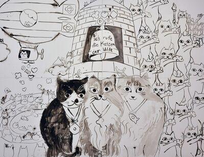Nobuaki Takekawa, 'Cat's Olympiad', 2019