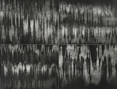 Luce Meunier, 'Aux quatre vents : courant d'air (noir), #2', 2017-2018