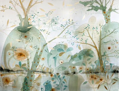Vanessa Linares, 'Turquoise Water', 2015