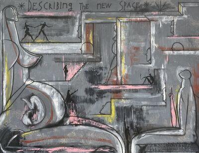José Bedia, 'Describing the New Space', 2017