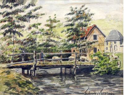 Paul-Emile Pissarro, 'Untitled  Village Scene'