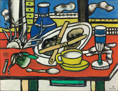 Fernand Léger, 'The two knives', 1949