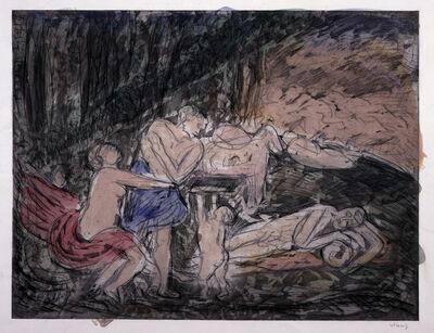 Leon Kossoff, 'Cephalus and Aurora', 1985
