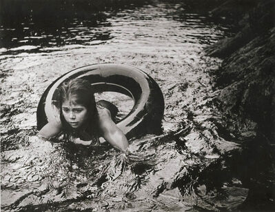 W. Eugene Smith, 'Juanita in Inner Tube', 1954c/1950s