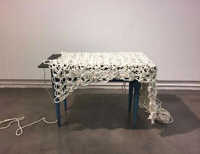 Susumu Koshimizu, '作業台ーアリアドネのテーブルクロス Work Bench -Table Cloth of Ariadne', 2010
