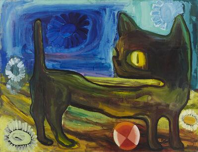 Judith Linhares, 'Kitten', 1990
