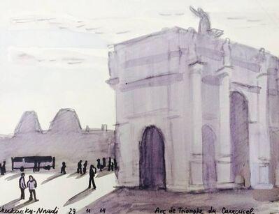Zoya Cherkassky-Nnadi, 'Arc de Triomphe du Carrousel', 2014