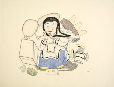 Napachie Ashoona, 'Untitled (032-4485)', ca. 1995