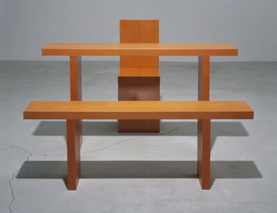 Robert Wilson, 'Dennis Table, Bench And Chair, Originally Designed For De Materie', 1989