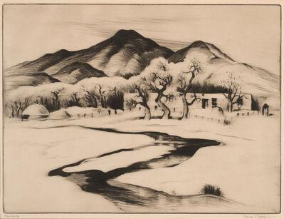 Gene Kloss, 'Ranchito ', 1936