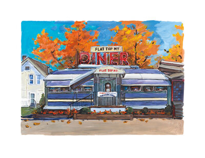 Bob Dylan, 'Flat Top Mt. Diner, Tennessee', 2017