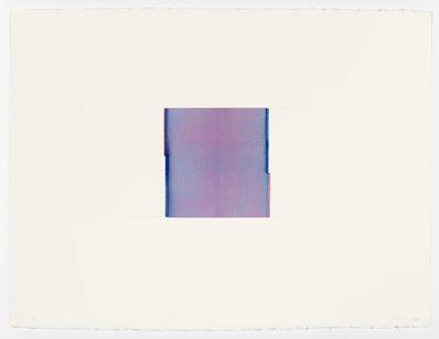 Callum Innes, 'Sapphire Blue / Opera Rose', 2020