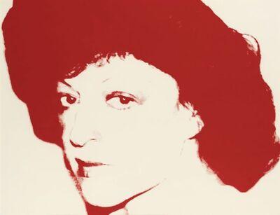 Andy Warhol, 'Regine', ca. 1979
