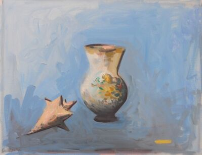 Paul Resika, 'Vase and Shell', 2015