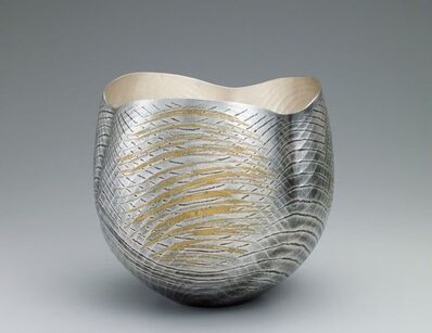 Osumi Yukie, 'Silver Vase (Sound of Wind) ', 2014