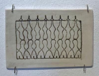 Jennifer Johnson, 'Powelton Village Iron Fence Tile 4'