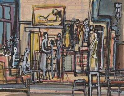 Wucius Wong, 'At home', 1958